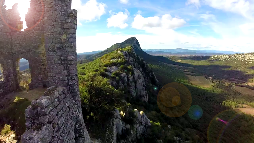 photo pic saint loup drone