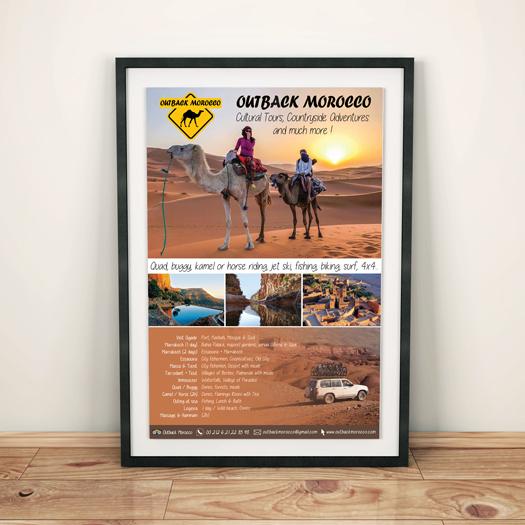 création affiches tourisme